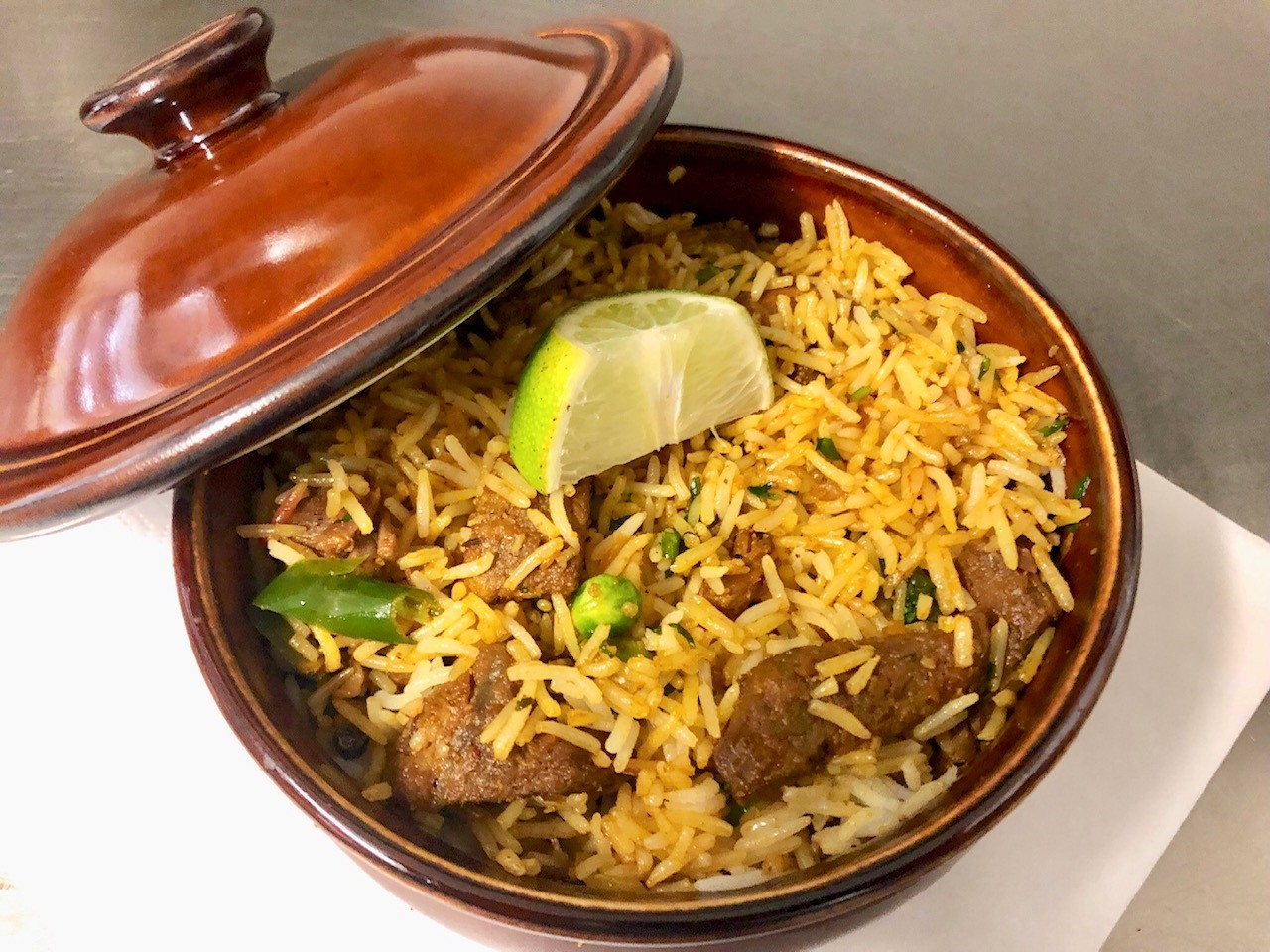 Indian Lamb and Rice